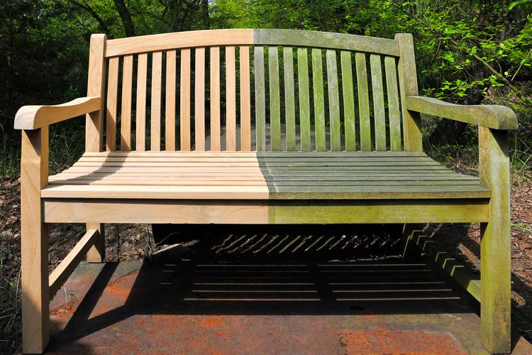 Gartenbank Holz Restaurieren ~ Anwendungen mit CP Galaxie Hochleistungsstrahler
